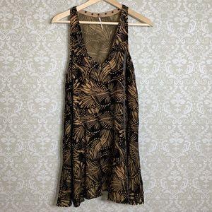 Free People Velvet Burnout Dress